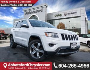 2016 Jeep Grand Cherokee Limited *ACCIDENT FREE* *LOCALLY DRI...