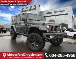 2017 Jeep Wrangler Unlimited Sahara *ACCIDENT FREE* *LOCALLY...