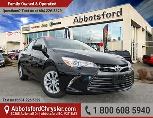 2016 Toyota Camry LE ACCIDENT FREE!