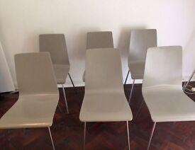 Dining Chairs x 6 (John Lewis)