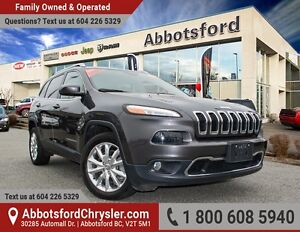 2016 Jeep Cherokee Limited w/ Factory tow package