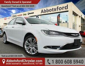 "2015 Chrysler 200 Limited Ex Demo w/ Remote Start & 8.4"" Screen"