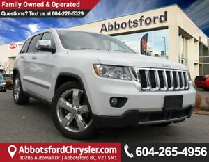 2013 Jeep Grand Cherokee Overland ACCIDENT FREE!