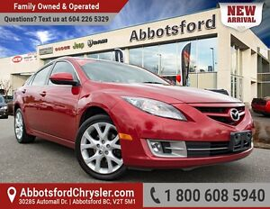 2010 Mazda Mazda6 GT-I4 Leather & Sunroof, local & Accident Free