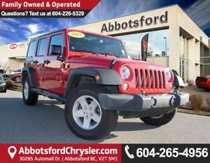 2014 Jeep Wrangler Unlimited Sport ACCIDENT FREE!