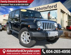 2013 Jeep Wrangler Unlimited Sahara ACCIDENT FREE!