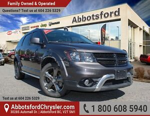 2015 Dodge Journey Crossroad w/ Navigation, Sunroof & DVD!