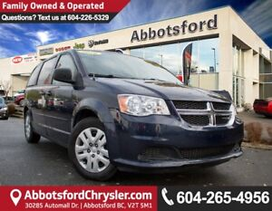 2014 Dodge Grand Caravan SE/SXT # 3 VALUE RANK IN BC!