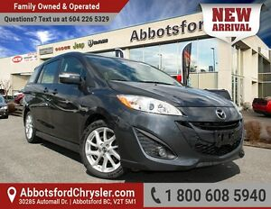 2014 Mazda Mazda5 GT One Owner, Local Vehicle