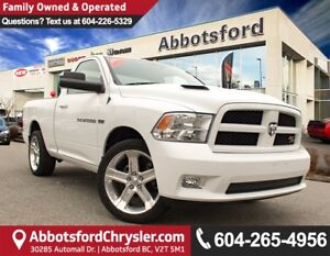 2012 RAM 1500 R/T ACCIDENT FREE!