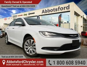 2016 Chrysler 200 LX Low Kilometers