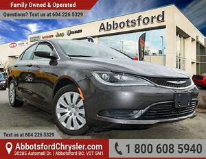 2016 Chrysler 200 LX Brand New Showcase Vehicle