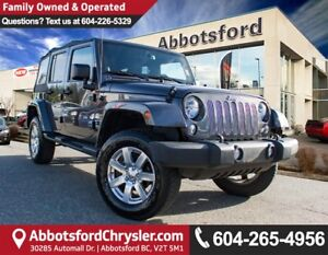 2014 Jeep Wrangler Unlimited Sahara ACCIDENT FREE!