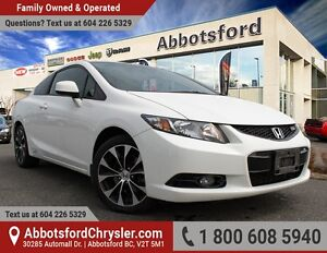 2013 Honda Civic Si One Owner & Accident Free!