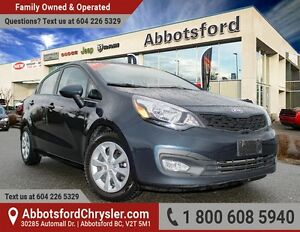 2013 Kia Rio LX Fuel Efficient & Accident Free!
