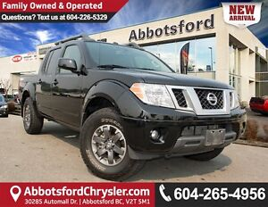 2015 Nissan Frontier PRO-4X ACCIDENT FREE!