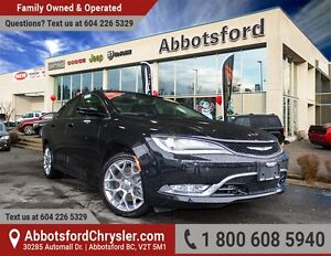 2016 Chrysler 200 C AWD, Ex Demo