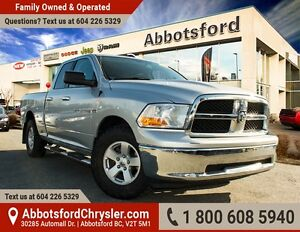 2012 RAM 1500 SLT One Owner & Accident Free!