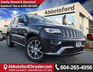 2016 Jeep Grand Cherokee Summit ACCIDENT FREE!