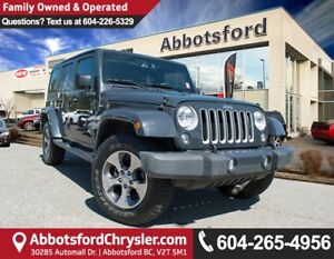 2016 Jeep Wrangler Unlimited Sahara ACCIDENT FREE!