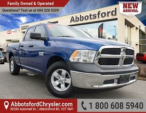 2014 RAM 1500 ST One Owner, Accident free!