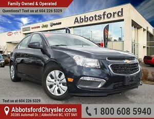 2015 Chevrolet Cruze 1LT LOCALLY OWNED!