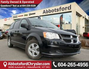 2012 Dodge Grand Caravan SE/SXT ACCIDENT FREE!
