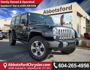2017 Jeep Wrangler Unlimited Sahara ACCIDENT FREE!