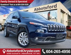 2015 Jeep Cherokee Limited ACCIDENT FREE!
