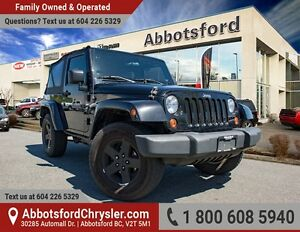 2009 Jeep Wrangler X Rocky Mountain Edition w/ Air Conditioning!