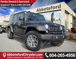 2017 Jeep Wrangler Unlimited Rubicon *ACCIDENT FREE* *LOCALLY...