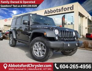 2017 Jeep Wrangler Unlimited Rubicon # 3 VALUE RANK IN BC!