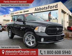 2016 RAM 1500 ST Ex Demo w/ Black Express Package