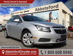 2013 Chevrolet Cruze LT Turbo One Owner & Accident Free!