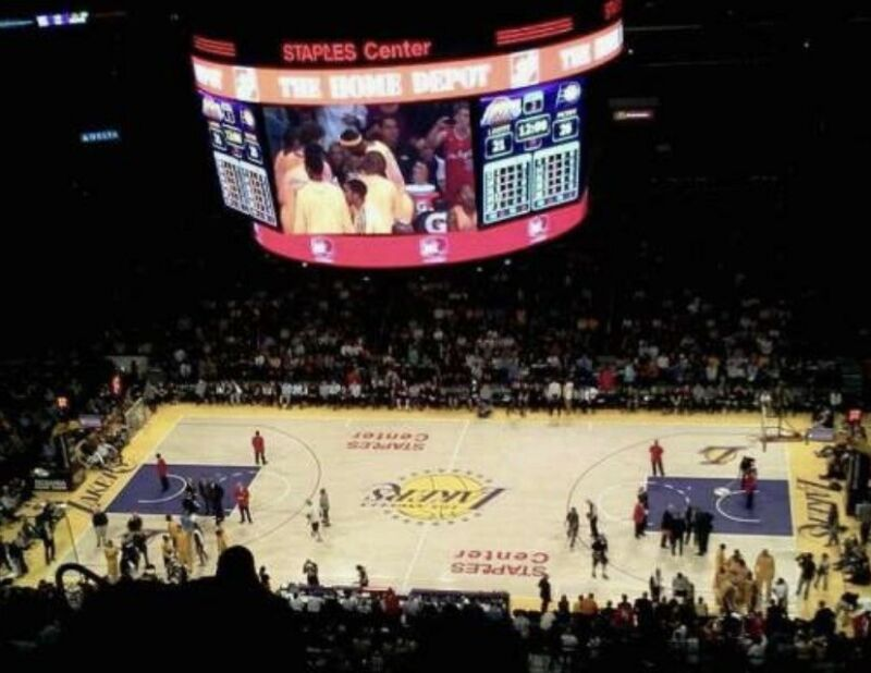 2 Great AISLE SEATS To LA Lakers Vs Denver Nuggets 4/3/22 Section 334 Row 10