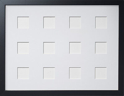 Frame Company Multi Aperture Black Picture Frames with Choice of ...