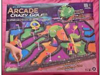 Arcade crazy golf