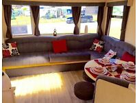 Cheap static caravan isle of wight, 12 month seafront park, 6 berth-for sale with site fees included