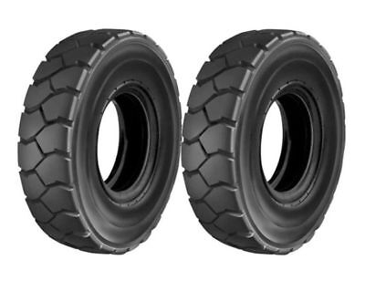 Set Of 2 New 6.00-9 Forklift Tires Tubes Flaps Cat Fork Truck 6.00-9 600-9