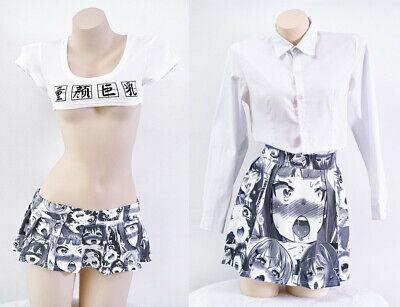 nted Anime Women Girls 19cm Mini Sexy Skirt 40cm Short Dress (Womens Anime-kostüme)