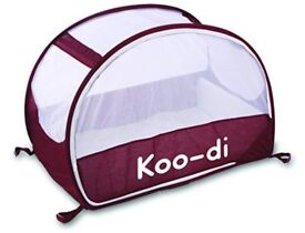 Koo-di Purple Pop Up Travel Cot