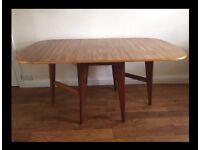 Morris of Glasgow Cumbrae drop leaf dining table