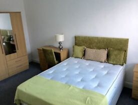 Immaculate room available to professionals or students in a shared flat