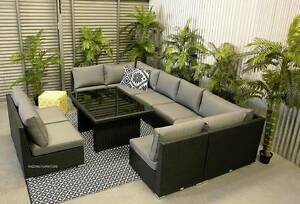 XL 8pc OUTDOOR modular multiway lounge PREMIUM Hendon Charles Sturt Area Preview