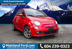 2014 Fiat 500 Sport ONE OWNER, NO ACCIDENTS
