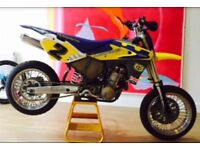 Husqvarna ex race bike supermoto 610SM R collectors