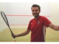 Squash lessons for beginners / basic level BRIGHTON