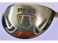 PING G10 HYBRID / 18 DEGREE / STIFF PROLAUNCH RED SHAFT / HY Series