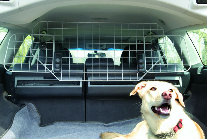 Car Dog  Pet Guard Barrier Safety Mesh Headrest Protector UNIVERSAL FIT DG4 #2