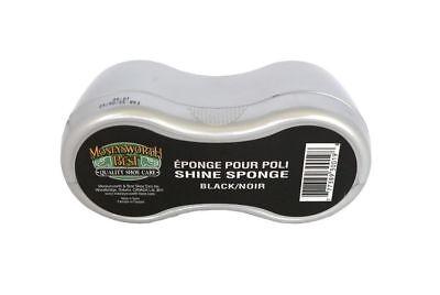 Moneysworth & Best Shoe Shine Sponge Polish Brush Boots Cleaner M&B